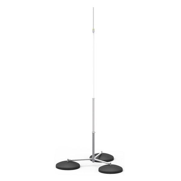 Insulated Lightning Conductor Free-Standing Tripod Interception Mast 3m-7m high