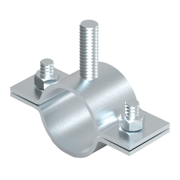 Mast or Pipe to Insulated Separation Bar Clamp