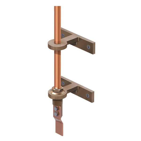 Side Mounted Rod Brackets