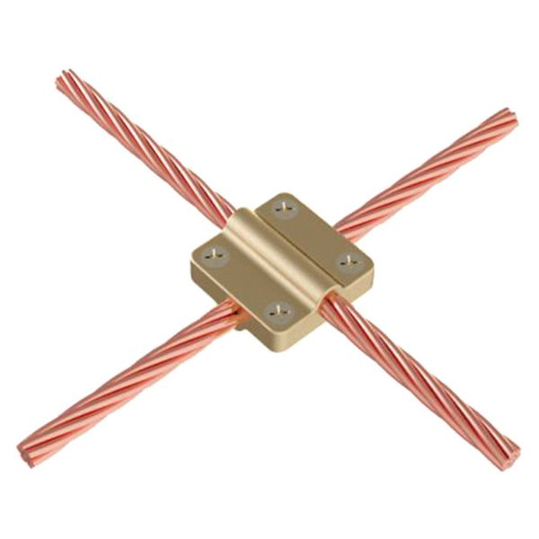 Square Clamps Circular conductor b