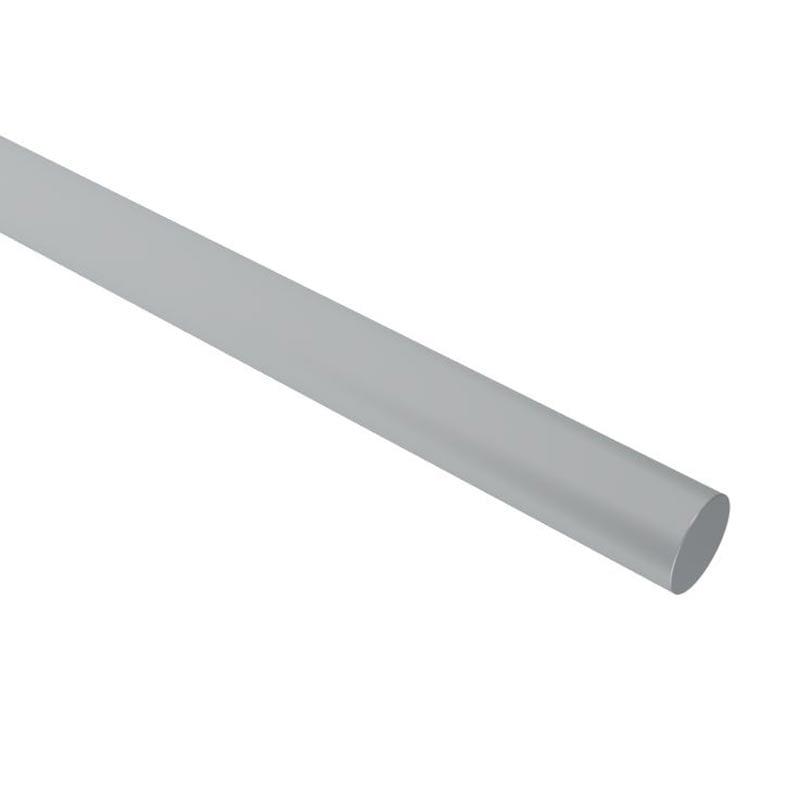 Kingsmill solid circular aluminium bare