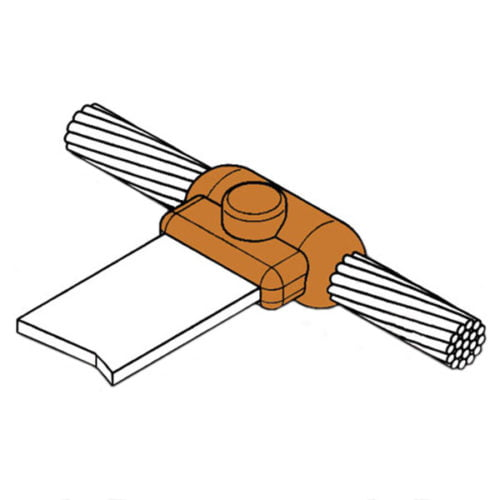 kingsweld cable-to-horizontal-bar connection cb-5