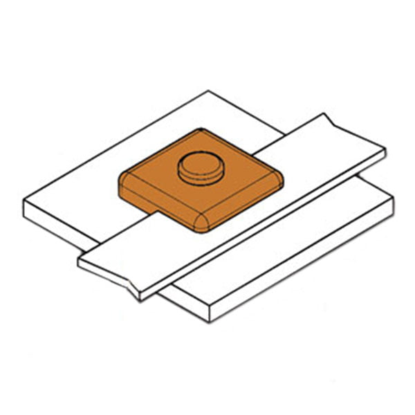 kingsweld horizontal bar-to-surface connection bs-3